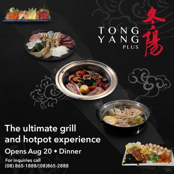 Tong Yang Plus opening promo