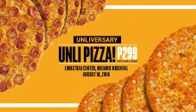 Unliversary Unli-Pizza at Yellow Cab Limketkai Center FI