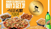 Yellow Cab Buy 3 Get 3 FI