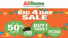 All Home 4 Day Sale Sq FI