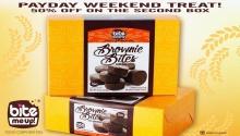 Bite Me Up Brownie Bites Payday Weekend Treat FI