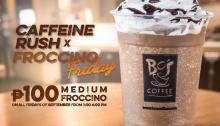 Bo's Coffee Caffeine Rush X Froccino Friday is Back FI