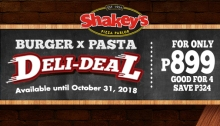 Shakey's Burger X Pasta Deli-deal F