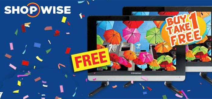 Shopwise 20riffic Buy 1 Take 1 TV