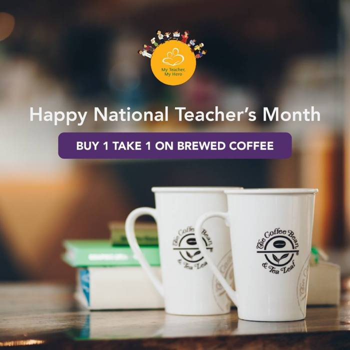 CBTL Happy National Teachers Month