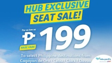 Cebu Pacific Air Hub Exclusive Seat Sale FI