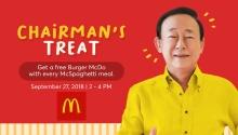 McDonald's chairmans Treat FI