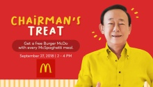 McDonald's chairmans Treat FI