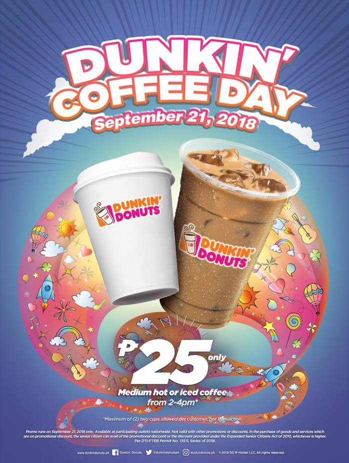 Dunkin' Donuts Coffee Day