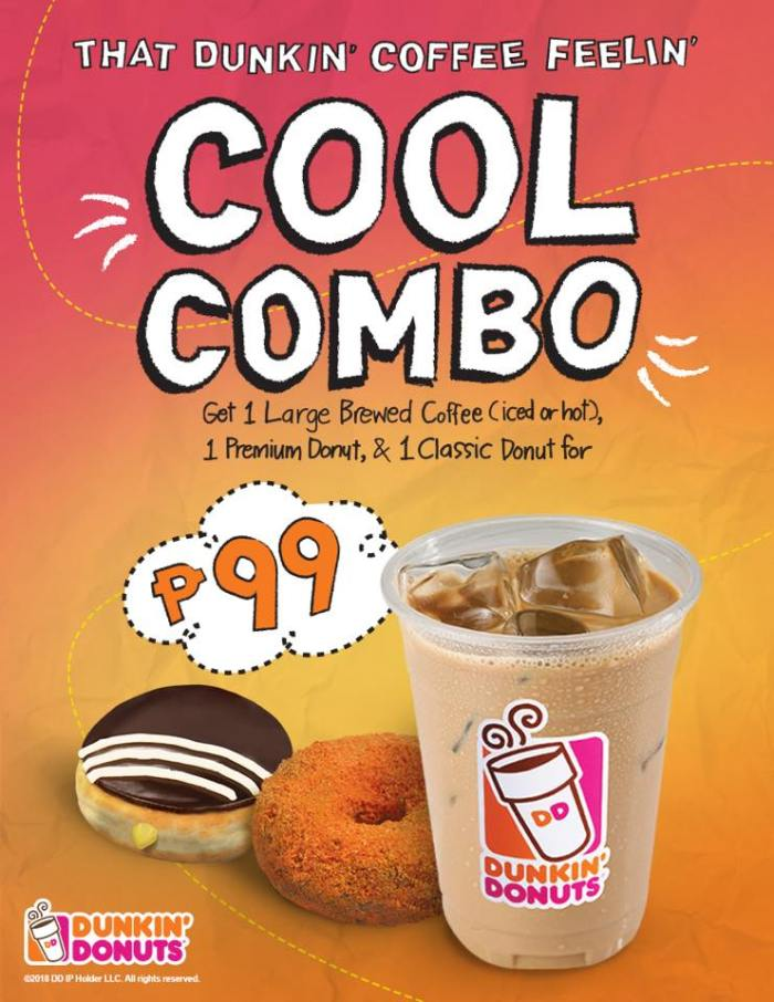 Dunkin' Donuts Cool Combo