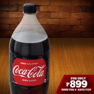 Shakey's Free 1.5L Coke
