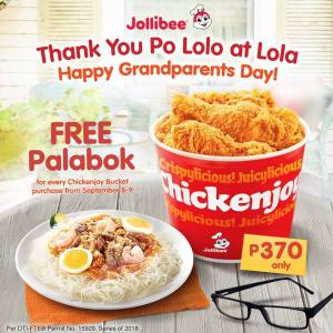 Jollibee Grandparent's Day Promo