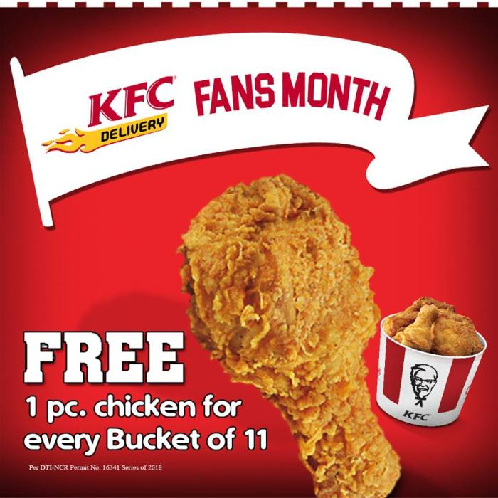 KFC Delivery Fans Month