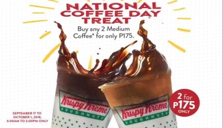 Krispy Kreme National Coffee Day Treat FI