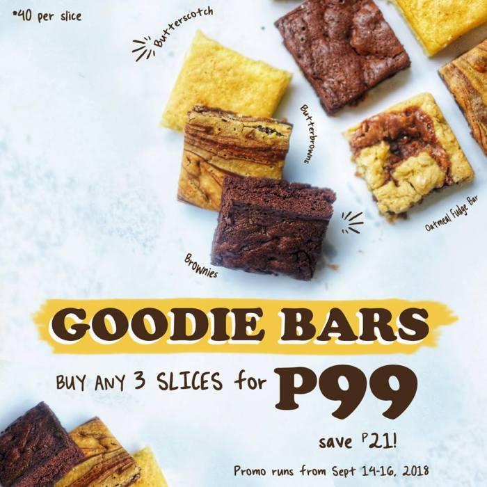 Mercedes Bakery Goodie Bars Promo