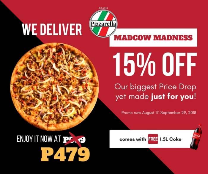 Pizzarella Madcow Pizza cover