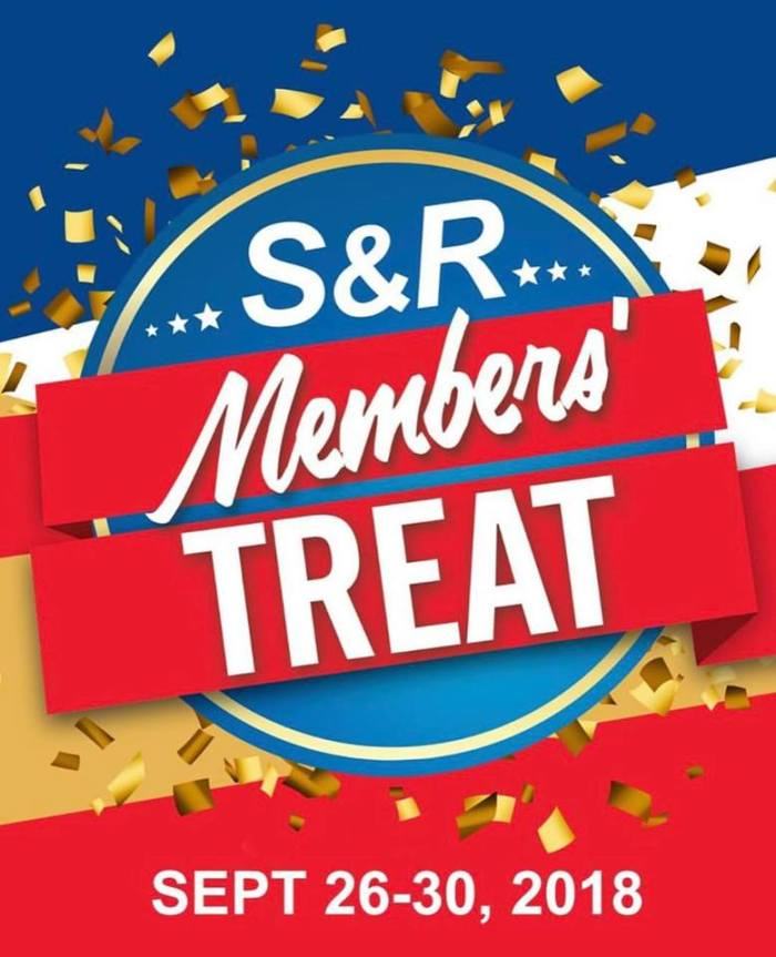 S & R Members Treat Sq