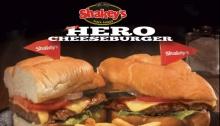 Shakey's hero cheeseburger FI
