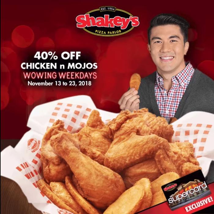 Shakey's wowing weekdays nov2018