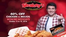Shakey's wowing weekdays Oct15-18 FI