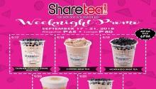 Sharetea CDO Weeknight Promo FI