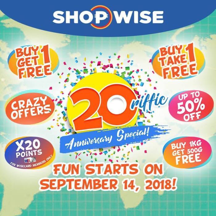 Shopwise 20riffic offers