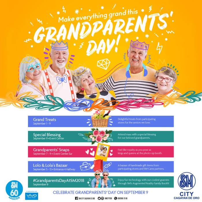 SM City CDO Grandparents Day