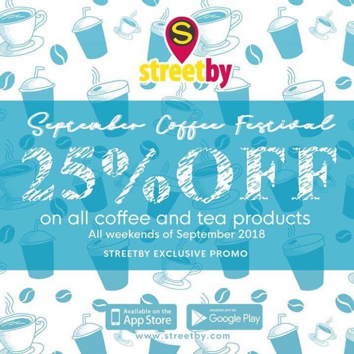 StreetBy September Coffee Festival