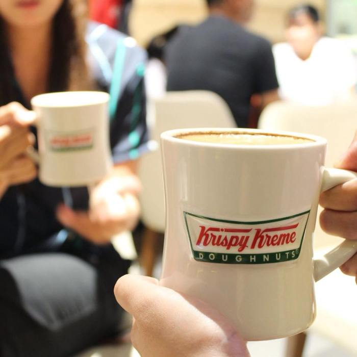 Two Medium Sized Coffee for P175 at Krispy Kreme