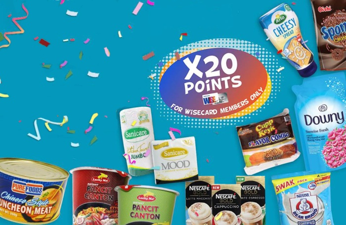 Shopwise 20riffic x20 points