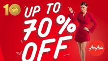 AirAsia up to 70 percent off FI