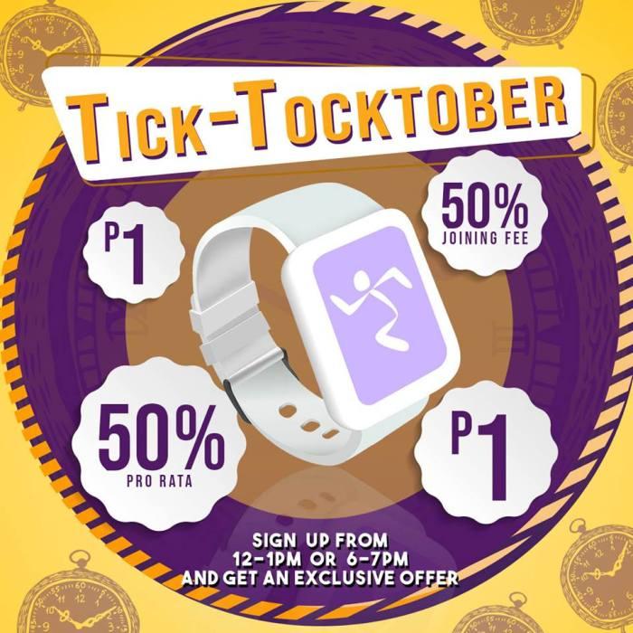 Anytime Fitness CDO Tick-Tocktober