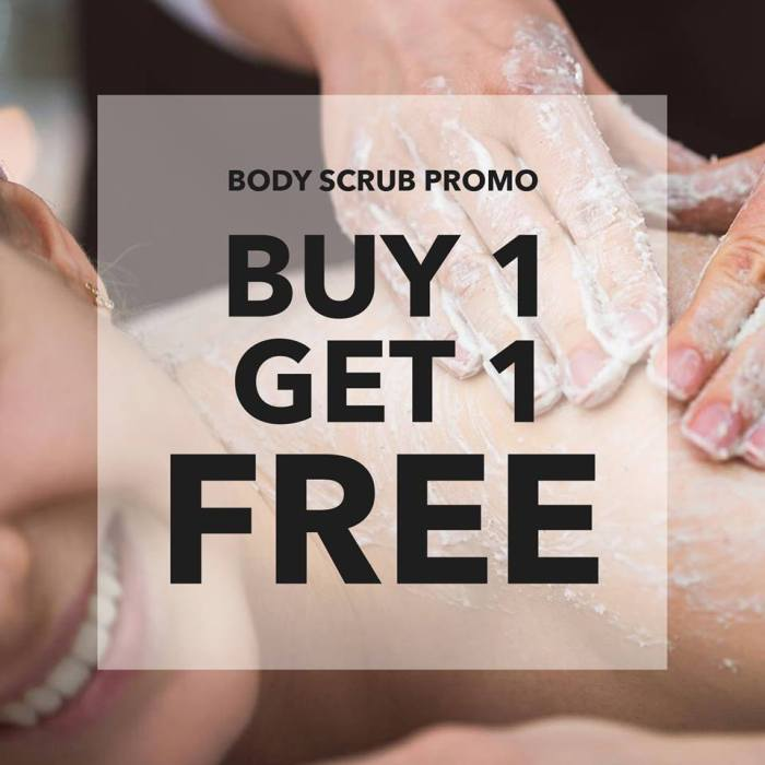 Aruga Aesthetic Center Buy 1 Get 1 Body Scrub Promo