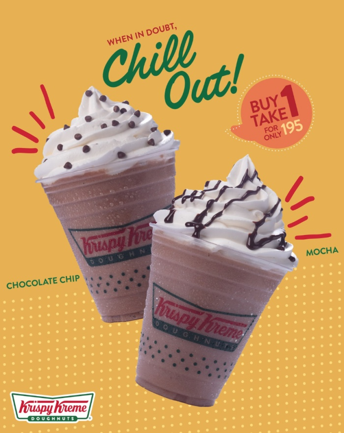 Buy 1 Get 1 Krispy Kreme Chillers