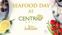 Buy 1 Take 1 on Seafood Dishes at Centrio FI
