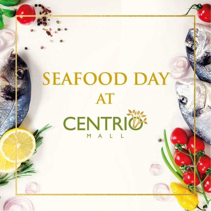 Buy 1 Take 1 on Seafood Dishes at Centrio sq
