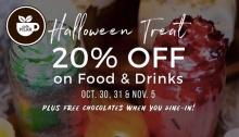 Cafe Pilar Halloween Treat FI