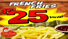 Dear Manok Grilled Chicken Restaurant P25 French Fries FI