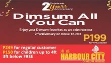 Dimsum-All-You-Can at Harbour City SM City CDO FI