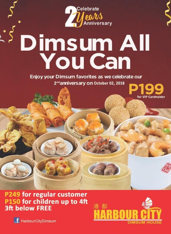 Dimsum-All-You-Can at Harbour City SM City CDO