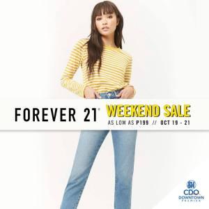 Forever21 weekend sale