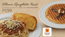FREE Golden Brown Waffle at Pancake House FI