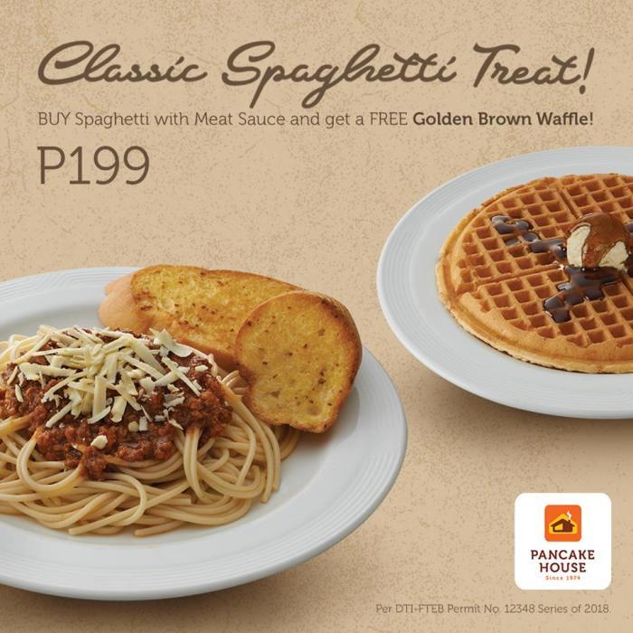 FREE Golden Brown Waffle at Pancake House