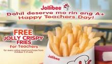 FREE Jolly Crispy Fries for Teachers FI