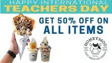 Honeymoo Teacher's Day Promo FI
