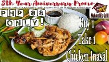 Mykarelli's Grill 8th Year Anniversary Promo FI