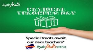 National Teacher's Day at Ayala Malls Cinemas FI