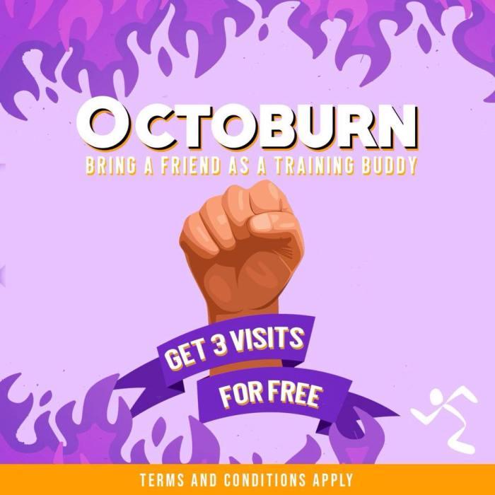 Octoburn Get 3 visits for FREE