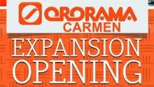 Ororama Carmen Expansion Opening FI
