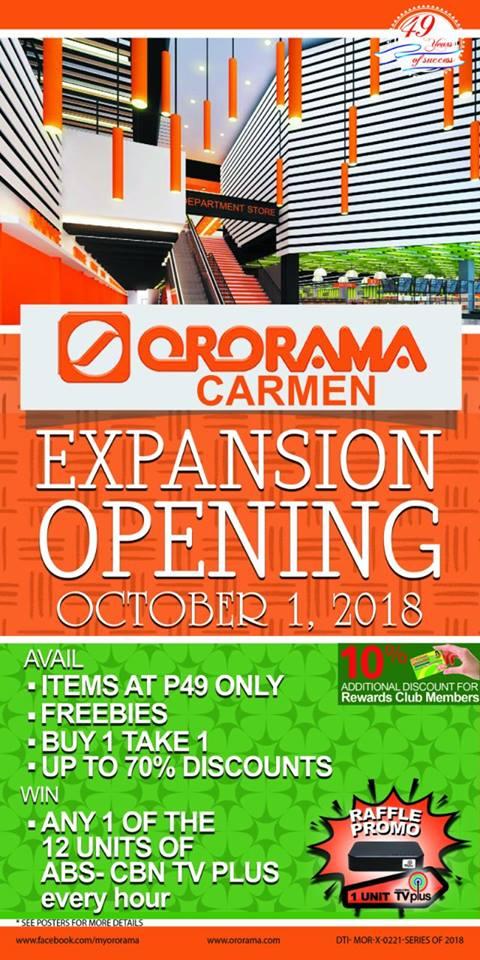 Ororama Carmen Expansion Opening